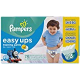 Pampers Easy Ups Training Pants Boys, Value Pack Boys, Size 6 (4T5T), 78 Count