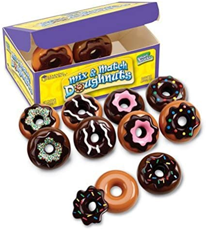 New In Box Memory Skills Learning Resources Mix And Match Doughnuts