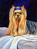 Caroline's Treasures 7157CHF Yorkie Flag Canvas, Large, Multicolor Review
