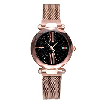 Reloj Mujer en Oro Rosa con Brazalete de Mujer 2019. Reloj ...