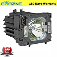Emazne POA-LMP108/610-334-2788 610-257-6269 Projector Replacement Compatible Lamp With Housing For Sanyo Eiki LC-X80 Sanyo PLC-XP1000CL Sanyo PLC-XP100L Sanyo PLC-XP100
