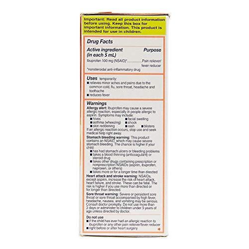 Children's Motrin Oral Suspension, 2 Pk./4 Oz. A1