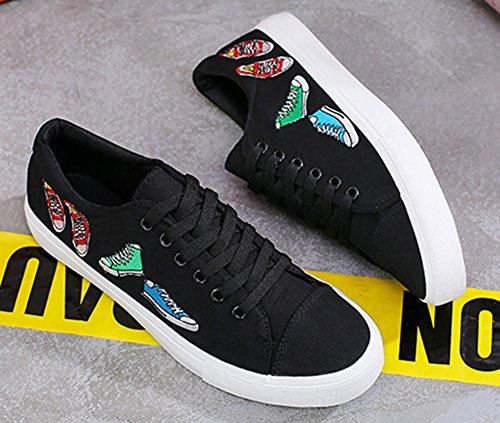 Homme Chaussures Mode De Aisun Tennis Sneakers Blanc Iwrxt6x Lacets À vmnwO80N