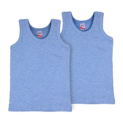 Baby Rib Brief (Kids By Brix Toddler and Boys Comfort Turkish Cotton Chambray Tank Tops.)
