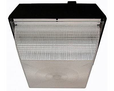 "Ark Lighting 9"" Square Canopy Light (Pan Type) ASM09-50MH 50W METAL HALIDE QUAD TAP"