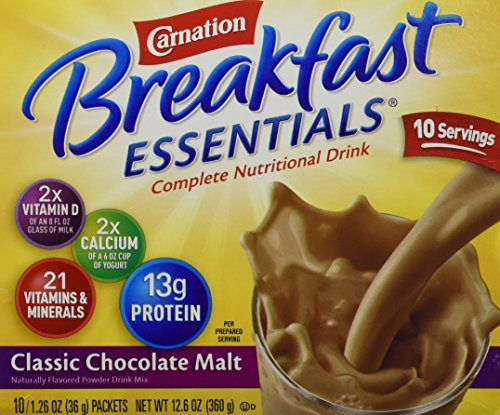 Carnation Breakfast Essentials Nutritional Chocolate product image
