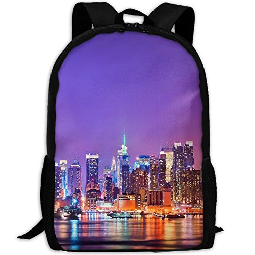 YOYUPRO School Bag Oxford Book Bag School Backpacks For Boys Girls, New York City
