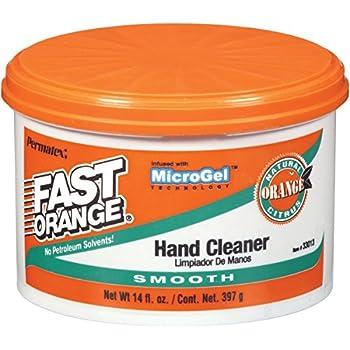 Permatex 33013-12PK Fast Orange Smooth Cream Hand Cleaner, 14 oz. (Pack of 12)