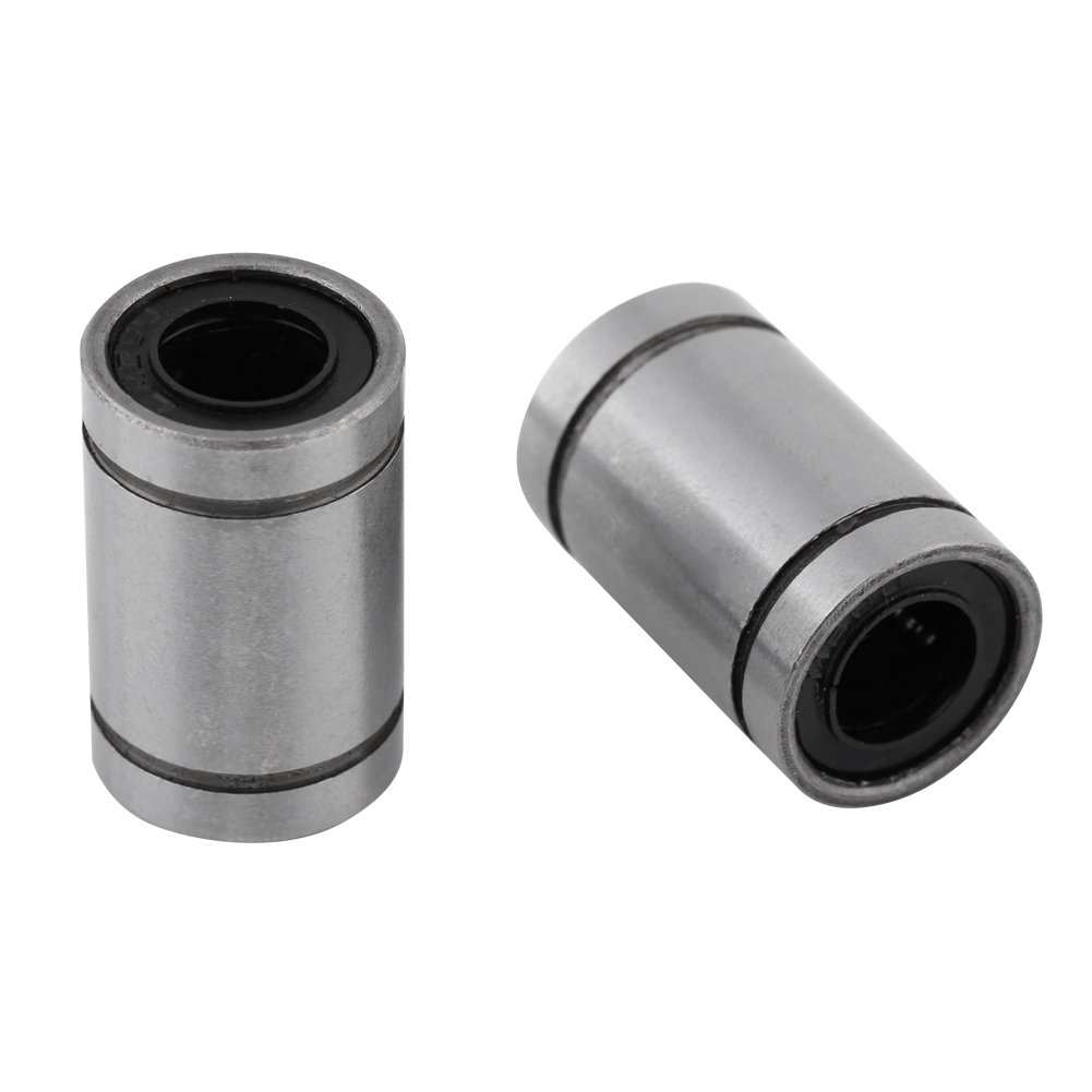 10pcs LM8UU 8mm Roulement /à Billes Lin/éaire Double Bague Scell/ée pour Rod 3D Imprimante CNC Pi/èces