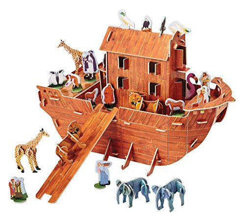 - Noah's Ark 3-D Puzzle Kit - Fun for The Whole Family