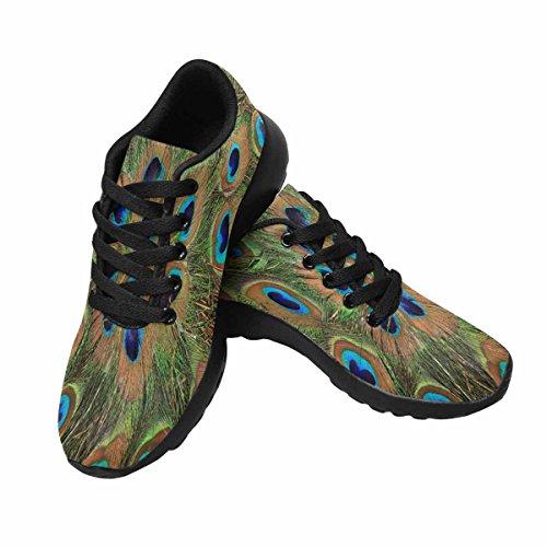 Chaussures De Course De Trailprint Womensprint Jogging Sports Légers Marchant Des Baskets Athlétiques Plumes De Paon Multi 1