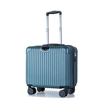 Maleta con maletas para equipaje de mano con 4 ruedas, con gancho Maleta con compartimento