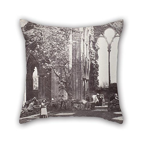 enton - Interior- Tintern Abbey Cushion Cases ,best For Family,birthday,father,couples,kitchen,lounge 16 X 16 Inches / 40 By 40 Cm(2 Sides) (Fenton Elephant)