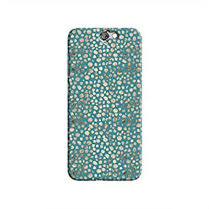 Cover It Up - Brown Blue Pebbles Mosaic One A9 Hard Case