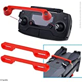 Propeller and Remote Control Locking Kit for DJI Mavic Pro / Platinum - RC Protector Locks the Position of Both Joysticks - Prop Locks Keep Blades in Fixed Position - Ideal Transport Protection - Red
