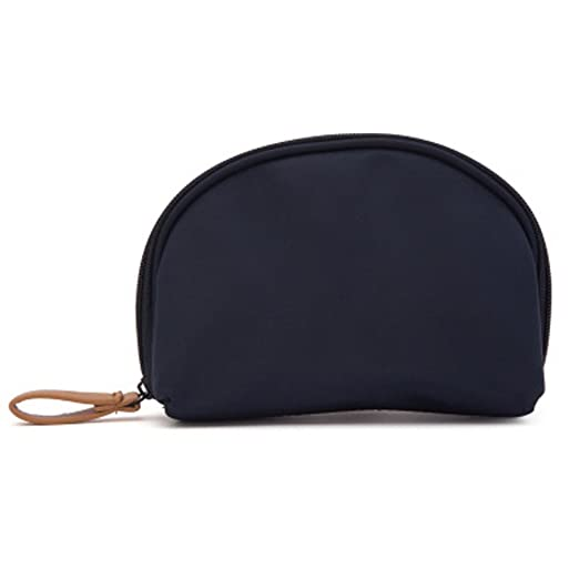 2c21eb994246 Amazon.com : Surosey Shell Cosmetic Bag Half moon Cosmetic Beauty ...