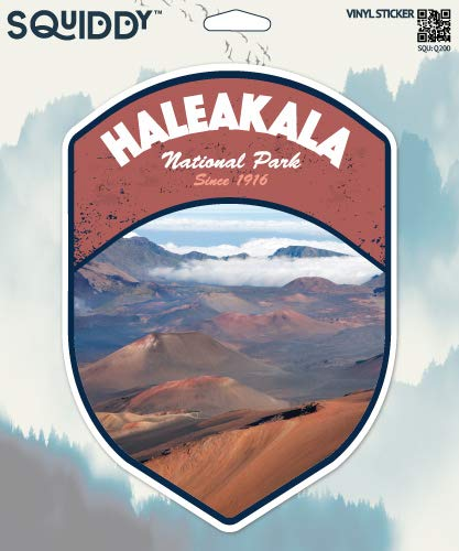 Squiddy Haleakala National Park - Vinyl Sticker (8