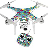 MightySkins Protective Vinyl Skin Decal for DJI Phantom 3 Standard Quadcopter Drone wrap cover sticker skins Bright Stones