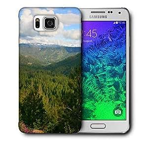 Diseñador Snoogg Teléfono protector de la cubierta del caso para Samsung Galaxy ALPHA