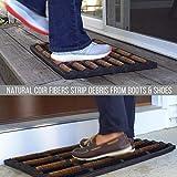 FOOTMATTERS Ninamar Mud Scrubber Tray Mat – 24 x