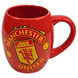 MANCHESTER UNITED FC TEA TUB MUG - RED MUG WITH THE MUFC CREST ON THE FRONT. LARGE MUG, HOLDS OVER 16 OUNCES. PERFECT FOR ANY MANCHESTER UNITED FAN. GET YOURS TODAY.