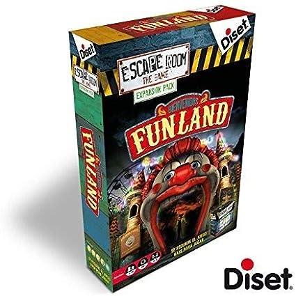 Diset - Escape Room expansión Funland: Amazon.es: Juguetes y juegos