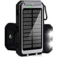 Solar Phone Charger, Solar Power Bank, 1...