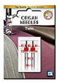 organ twin needle - Organ Needles 4964832520821 Twin Needles #80/3.0 Twin Universal X 2 Needles