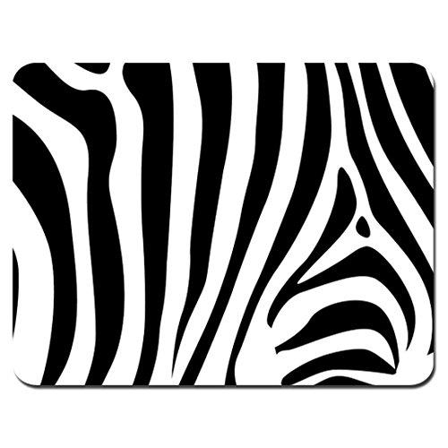 Meffort Inc Standard 9.5 x 7.9 Inch Mouse Pad - Zebra Stripes Design