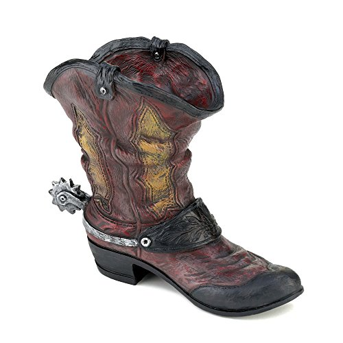 Decorative Stylish Cowboy Boot Home Western Décor