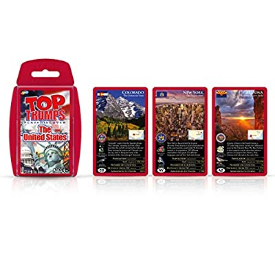 United States Top Trumps Card Game: Toys & Games