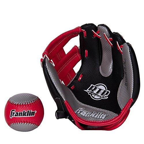 Tech Air Baseball - Franklin Soft Air Tech Youth Glove and Ball Set - Red