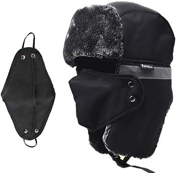 UOUDIO Trapper Ushanka Windproof Warm Winter Hat