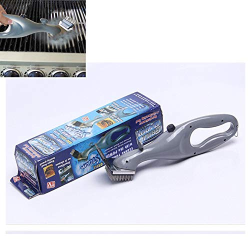 Hometti Stainless Steel BBQ Cleaning Brush Camping Grill Cleaner Steam Barbecue Accessories Cooking Tools