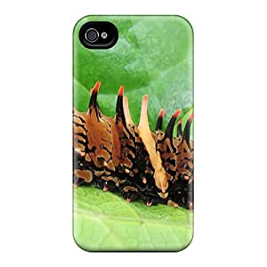 Awesome PffyDgi6779zVPbn Sean C Ortiz Defender Tpu Hard Case Cover For Iphone 4/4s- Fire Caterpillar