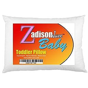 Toddler Pillow – Soft Hypoallergenic – 13×18 – Machine Washable