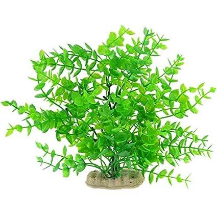 eDealMax árbol de plástico en Forma de acuario Adorno de la planta acuática, 8,