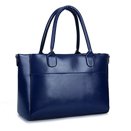 Simple Bolsa Ocio Moda Package Xiekua Nueva De GWQGZ Blue Negro Commuter Portátil xgqwCSRYB
