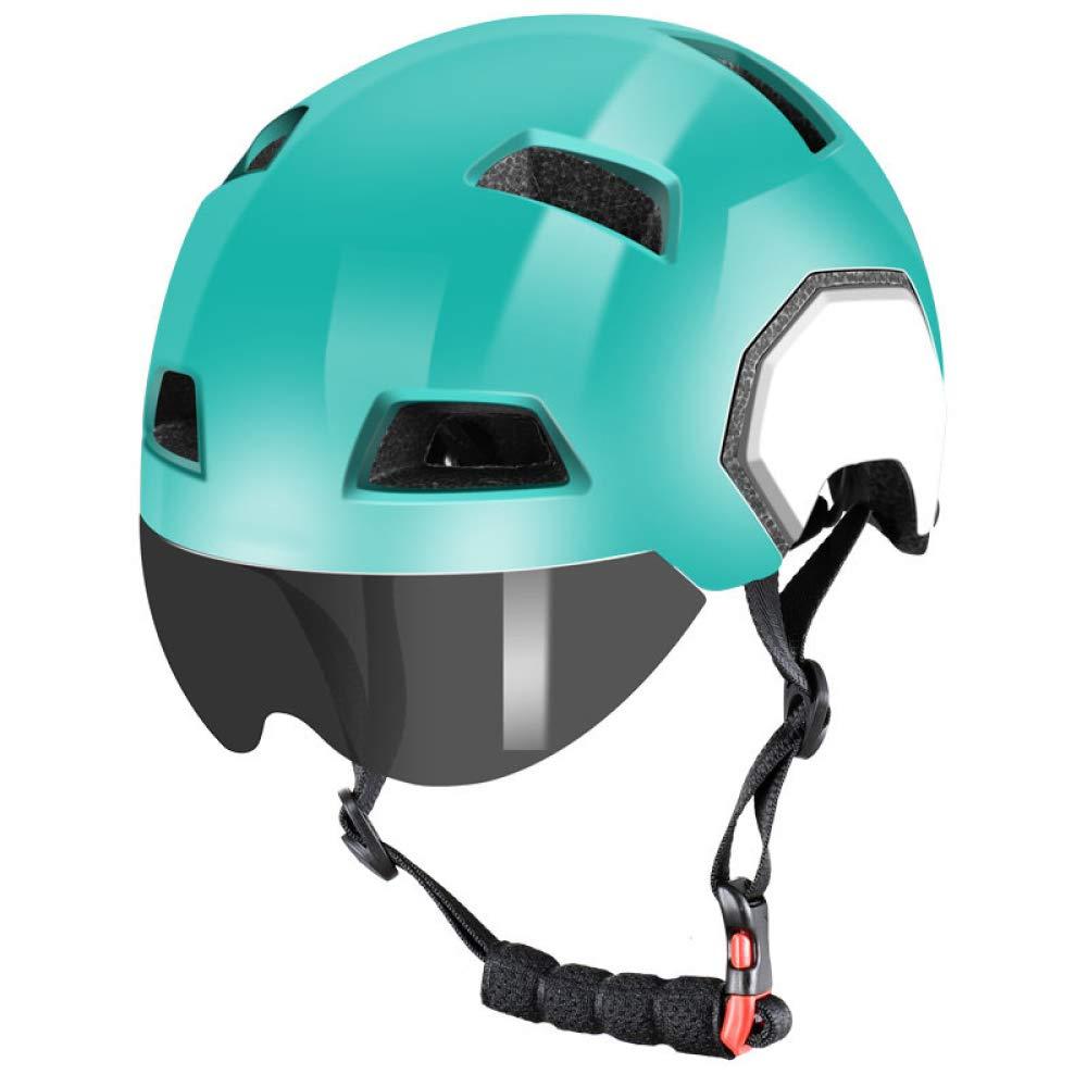 Box Czz Fahrradhelm, Männer Und Frauen Mit Schutzbrillen Integrierten Mountainbike Rennrad Helm, Fahrradausrüstung,C,M