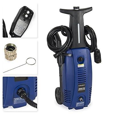 2000w Motor Pressure High Washer Spray Cleaner Turbo Electric Gun Sprayer Water Jet Power 3000 PSI
