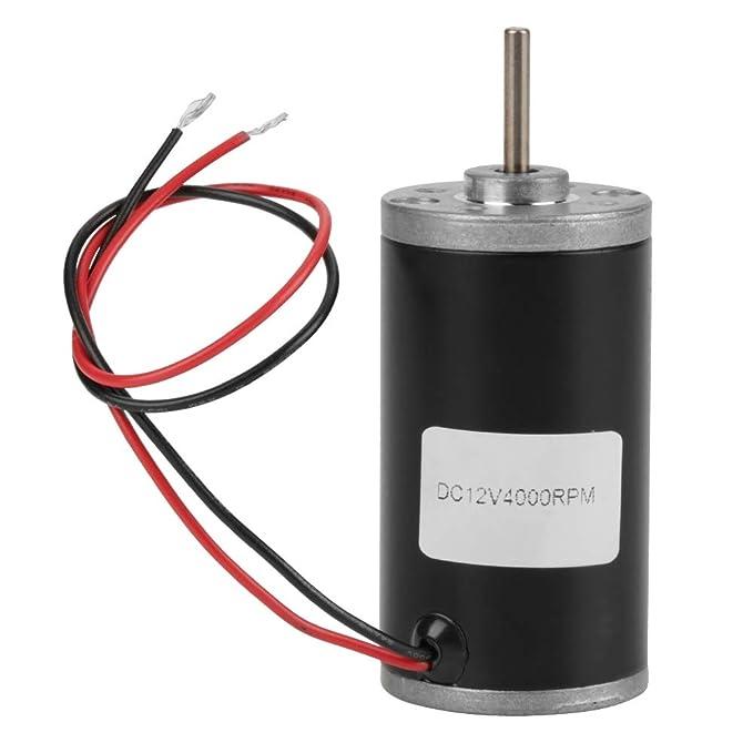 Amazon.com: Motor magnético permanente 31ZY 6 V/12 V/24 V ...