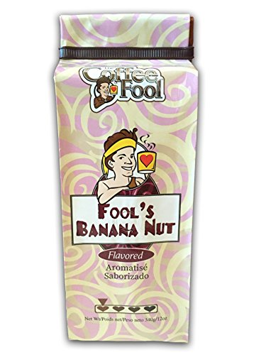 (The Coffee Fool Drip Grind Coffee, Fool's Banana Nut, 12 Ounce)