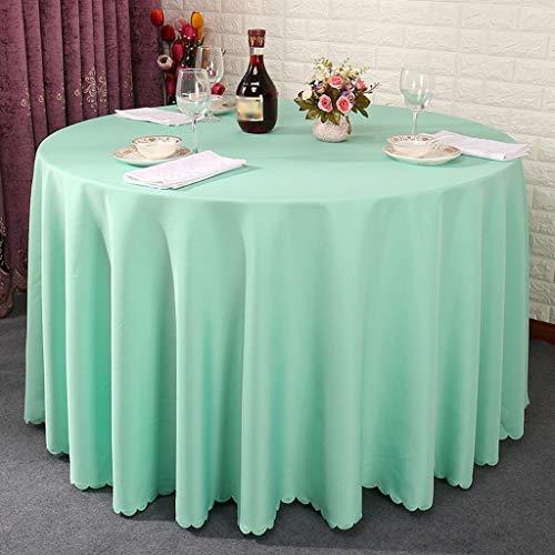 Rond-160cm B WLG La nappe de ménage, la nappe de la table basse, le restaurant simple d'hôtel dinant la nappe de repas ronde de table ronde de salon peut être adaptée aux besoins du client taille facultative, nap