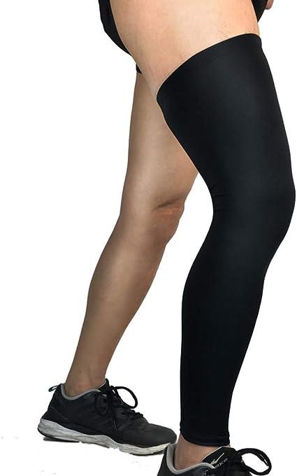 Sport Kids Football Basketball Cycling Strech Leg Knee Long Sleeve XXS-XL Black
