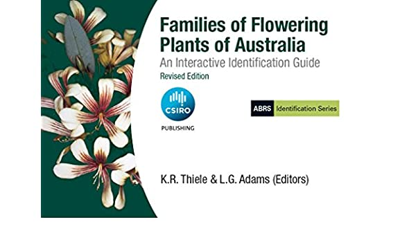 Families of flowering plants of australia: an interactive.