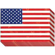40-Pack All Occasion Postcards - American Flag Postcard - Blank on the Inside - Patriotic Theme - 4 x 6 Inches
