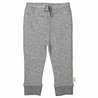 Burt's Bees Baby - Knit Jogger Pant, 100% Organic Cotton, Heather Grey Loose ...