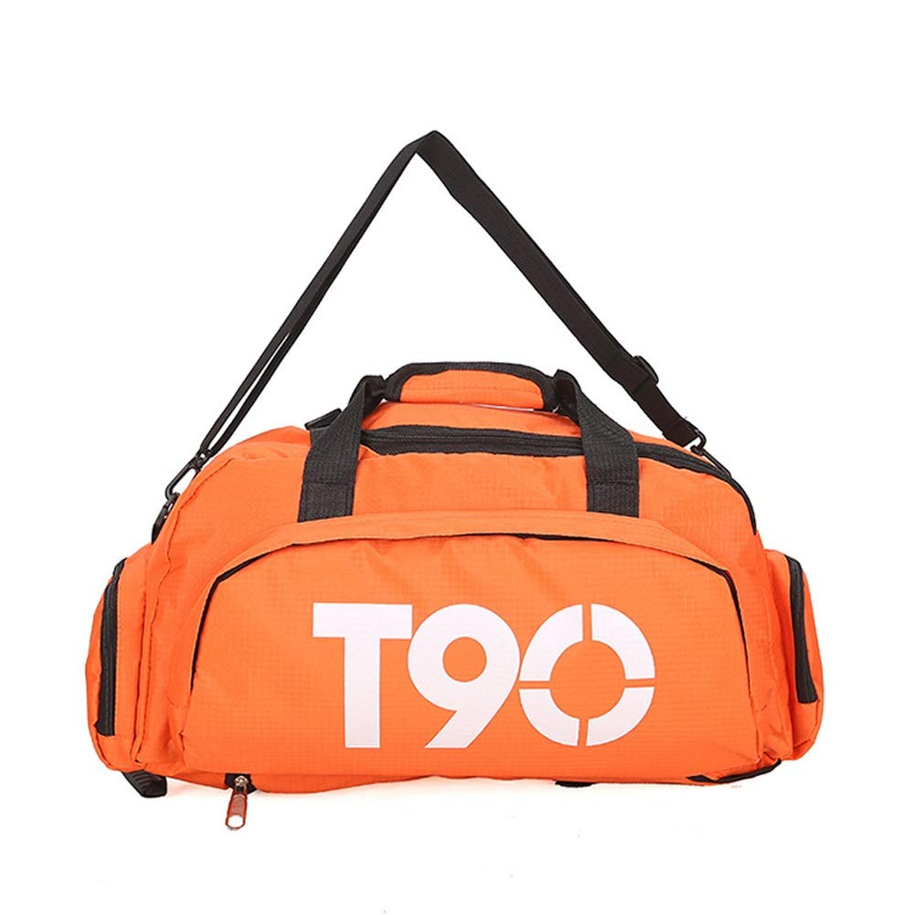 GYYlucky Fashion Travel Bag Portable Large Capacity Outdoor Sports Fitness Bag Tote Bag Hiking Bag Color : A