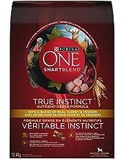 Purina ONE Smartblend True Instinct Natural Dry Dog Food, Turkey & Venison 12.4 kg