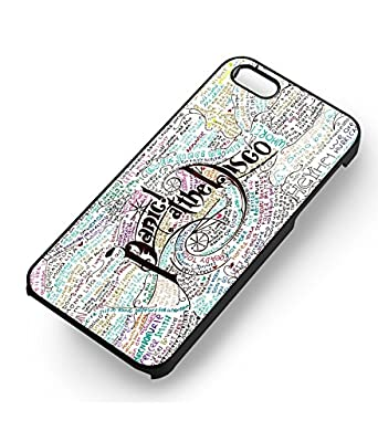 PATD Lyrics Art Collage For Iphone 6 And 6s Case White Rubber
